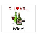 I Love Wine Small Poster