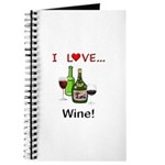 I Love Wine Journal