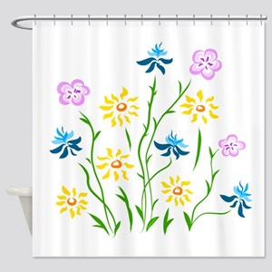 Spring Theory Shower Curtain