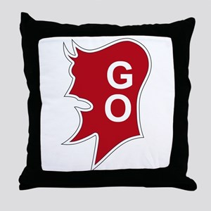 9th Infantry Division 3rd Brigade Throw Pillow