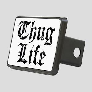 Thug Life Rectangular Hitch Cover
