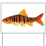 African Banded Barb Yard Sign