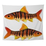 African Banded Barb Wall Tapestry
