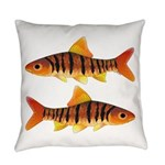 African Banded Barb Everyday Pillow