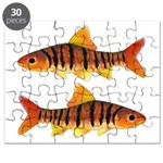 African Banded Barb Puzzle