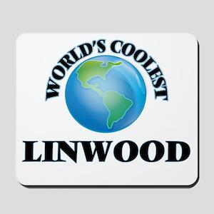 World's Coolest Linwood Mousepad