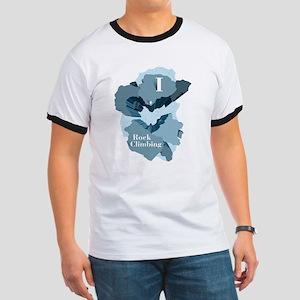 I Heart Rock Climbing T-Shirt