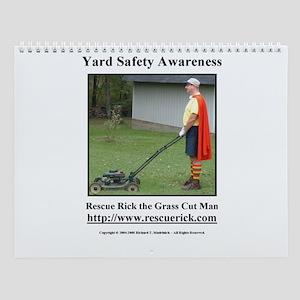 Yard Safety Awareness Wall Calendar