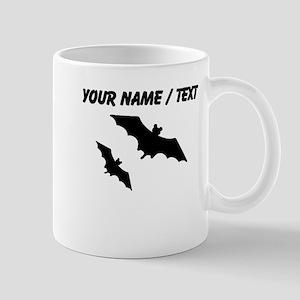Custom Bats Silhouette Mugs