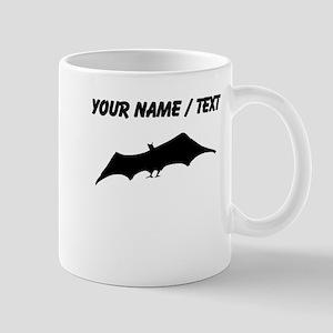 Custom Bat Silhouette Mugs