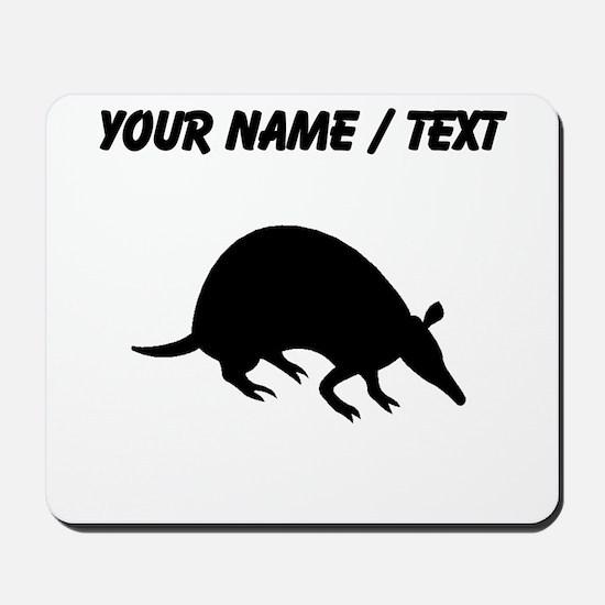 Custom Armadillo Silhouette Mousepad