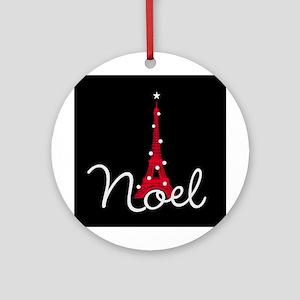 Paris Noel Ornament (Round)