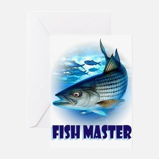 FISH MASTER Greeting Cards