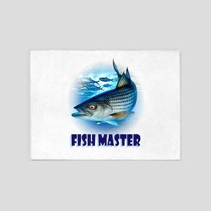FISH MASTER 5'x7'Area Rug