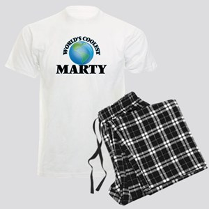 World's Coolest Marty Men's Light Pajamas