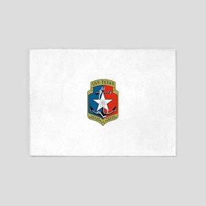 USS Texas (CGN 39) 5'x7'Area Rug