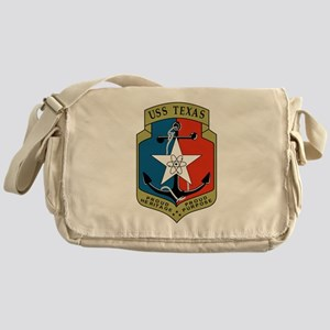 USS Texas (CGN 39) Messenger Bag