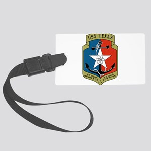 USS Texas (CGN 39) Large Luggage Tag