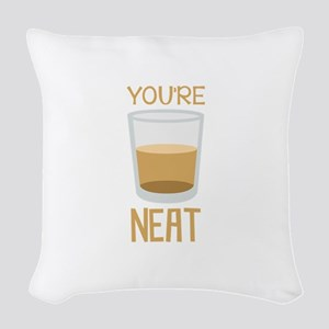Youre Neat Woven Throw Pillow