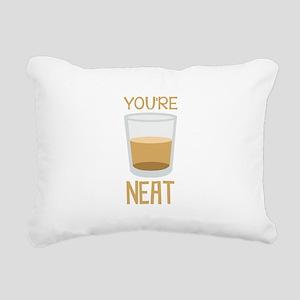 Youre Neat Rectangular Canvas Pillow