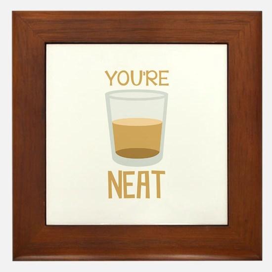 Youre Neat Framed Tile