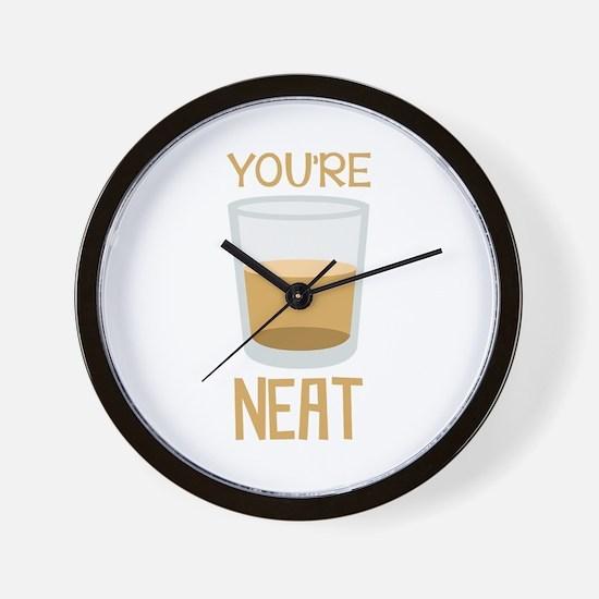 Youre Neat Wall Clock