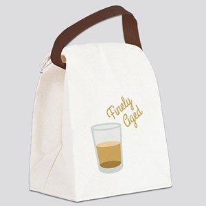 Finely Aged Shot Canvas Lunch Bag
