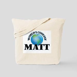 World's Coolest Matt Tote Bag