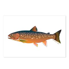 Arctic Char v2 Postcards (Package of 8)