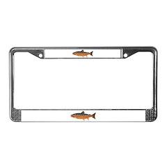 Arctic Char v2 License Plate Frame