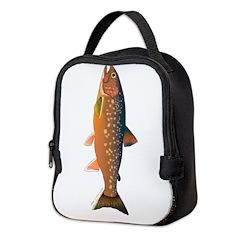 Arctic Char v2 Neoprene Lunch Bag