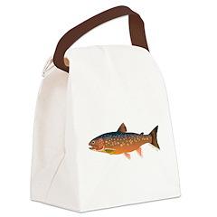 Arctic Char v2 Canvas Lunch Bag