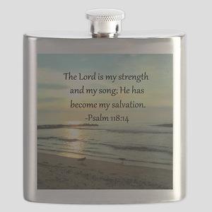 PSALM 118:14 Flask