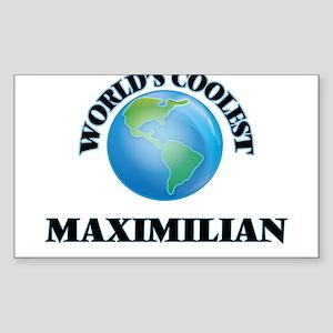 World's Coolest Maximilian Sticker