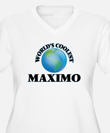 World's Coolest Maximo Plus Size T-Shirt