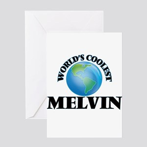 World's Coolest Melvin Greeting Cards