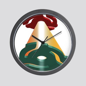 RPM Adapter Flying Saucers Wall Clock