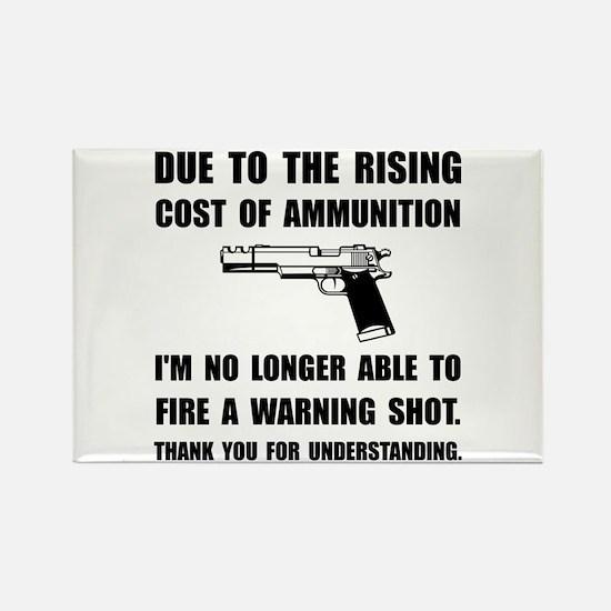 Ammunition Warning Shot Magnets