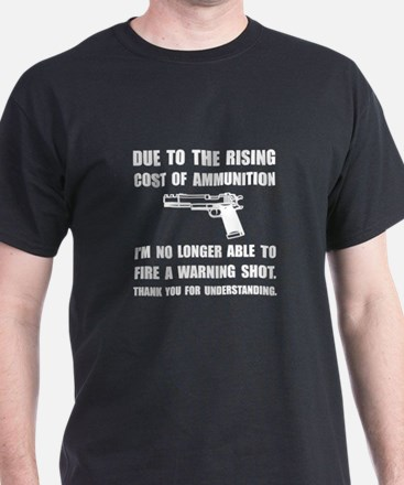 Ammunition Warning Shot T-Shirt