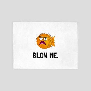 Blow Me 5'x7'Area Rug