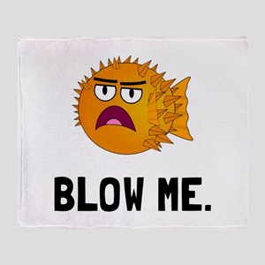 Blow Me Throw Blanket