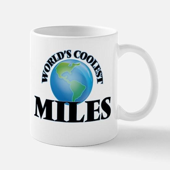 World's Coolest Miles Mugs