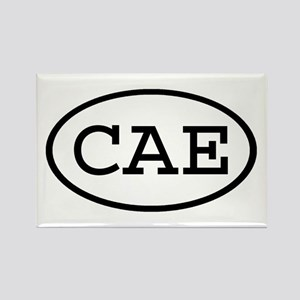CAE Oval Rectangle Magnet