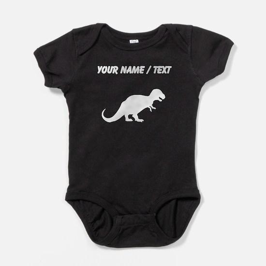 Tyrannosaurus Rex Silhouette (Custom) Baby Bodysui