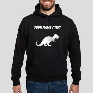 Tyrannosaurus Rex Silhouette (Custom) Hoodie
