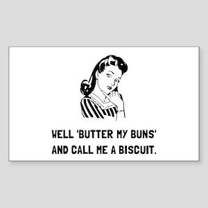Butter My Buns Sticker