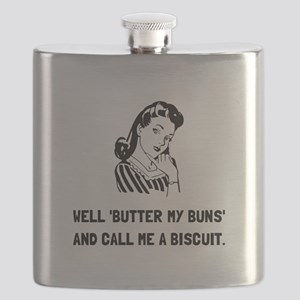 Butter My Buns Flask