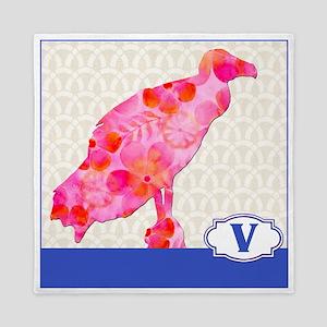 V is for Vulture Queen Duvet