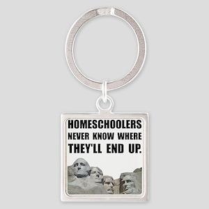 Homeschool Rushmore Keychains
