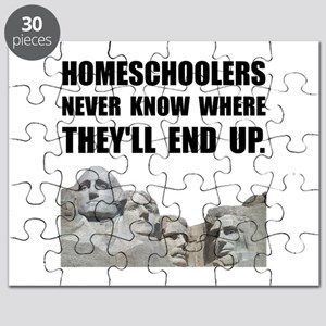 Homeschool Rushmore Puzzle